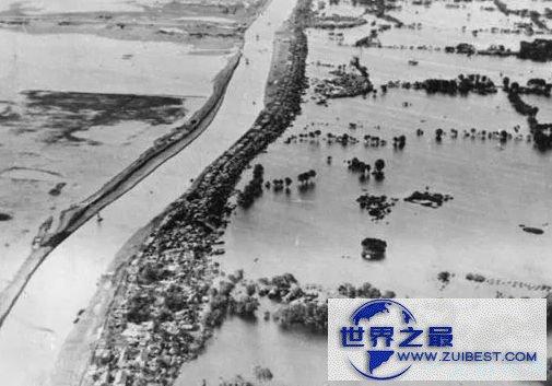1887年黄河大水灾——90万人