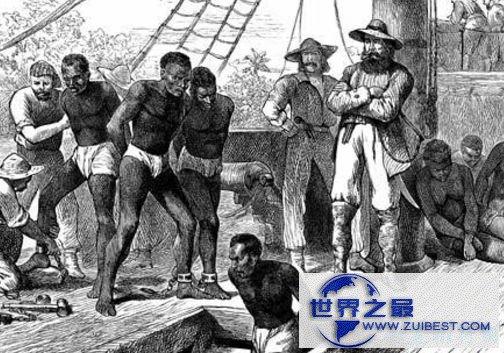 大西洋奴隶贸易——1000万人