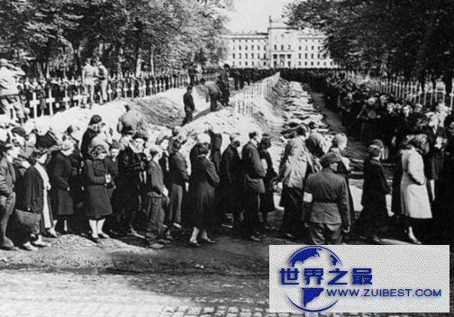 犹太人大屠杀——600万人