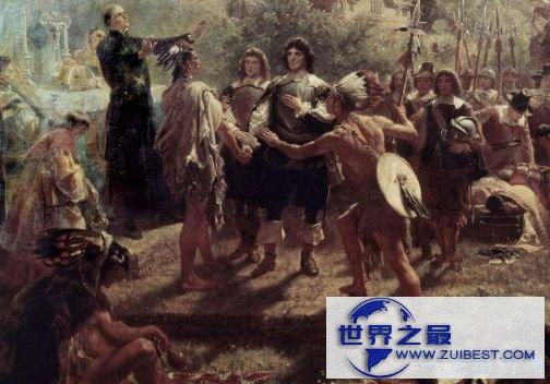 欧洲殖民美洲——9500万人