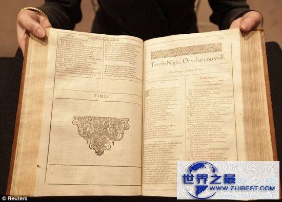 【图】世界上最贵的书