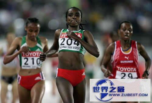 【图】5000米世界纪录,男子12分37秒/女子14分11秒