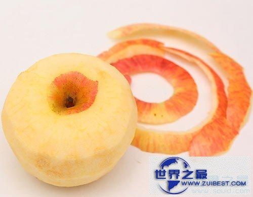 【图】世界上最长的削苹果皮