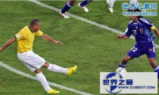 【图】世界杯进球最多的球员,罗纳尔多C罗(15球)