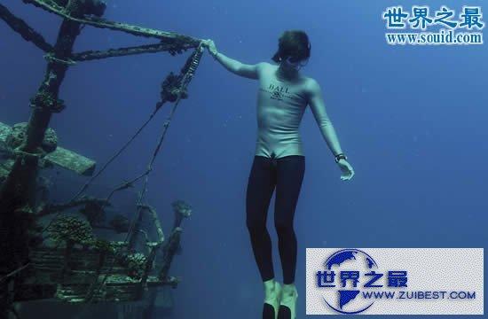 【图】人类潜水最深纪录,深达332米(人类潜水极限)