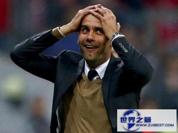 拜仁教练瓜迪奥拉