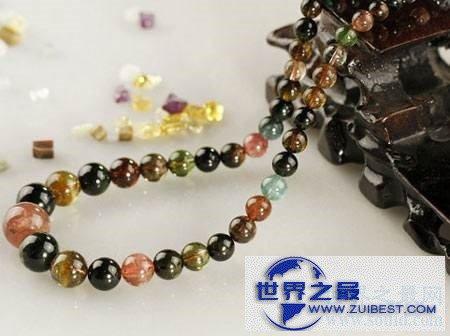 【图】碧玺:一种来自宝石界的七色彩虹