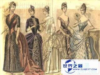 紧身胸衣:紧身胸衣露美臀,紧身胸衣在欧洲英国的起源以及在世界的发展历程