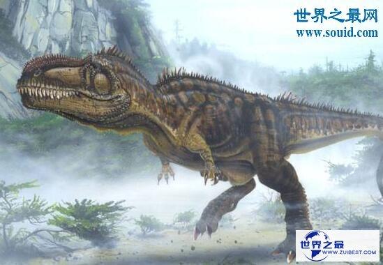 【图】智商最高的恐龙异特龙,位于食物链顶端