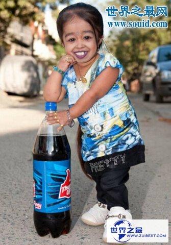 【图】世界最矮女性,乔蒂·阿姆奇(终身只要62.8厘米