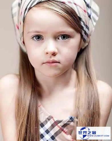 【图】世界上年龄最小的国际超模,9岁小美女