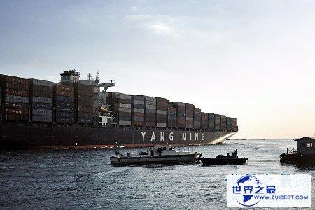 【图】苏伊士运河衔接了亚洲与非洲 是一条重要的海上