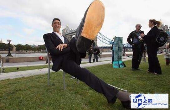 【图】世界第一高人,苏尔坦·科森超越鲍喜顺(高达2