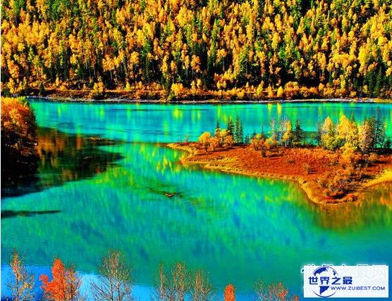 【图】变色湖之喀纳斯湖,东南边陲的蓝色大宝石