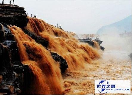 壶口瀑布人造景观: