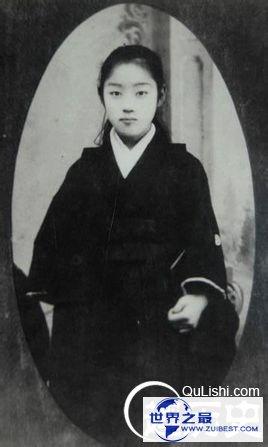 孙中山的隐秘日本夫人是个大美女!大月薰照片