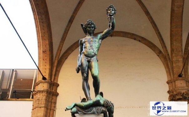 珀尔修斯雕像