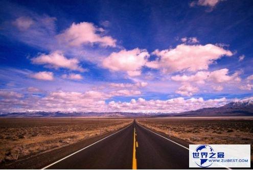 荒芜而孤单美国50号公路