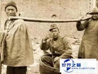 日本鬼子不敢公开的照片,张张令人发指,图四手中货色十恶不赦!