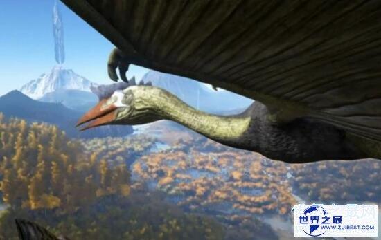【图】史上最大的飞举动物,风神翼龙可以捕杀霸王龙