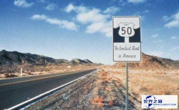 世界上最孤单的公路 一集体在荒芜的西部游荡