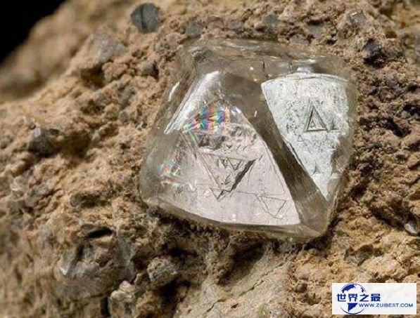 世界上最富裕的中央 钻石遍地都是