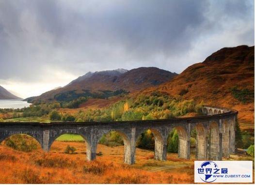 8.苏格兰 格兰芬南高架桥