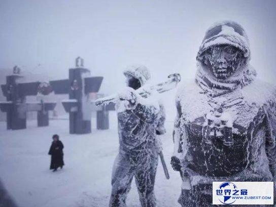 奥伊米亚康的先生零下50摄氏度照常上学