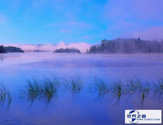 4.世界上最大的咸水湖:苏必利尔湖
