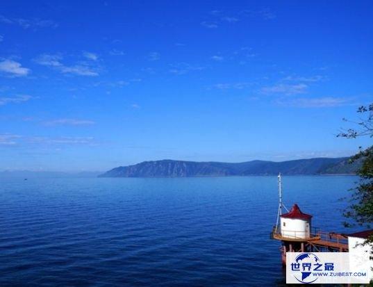 3.世界上最深的湖:贝加尔湖