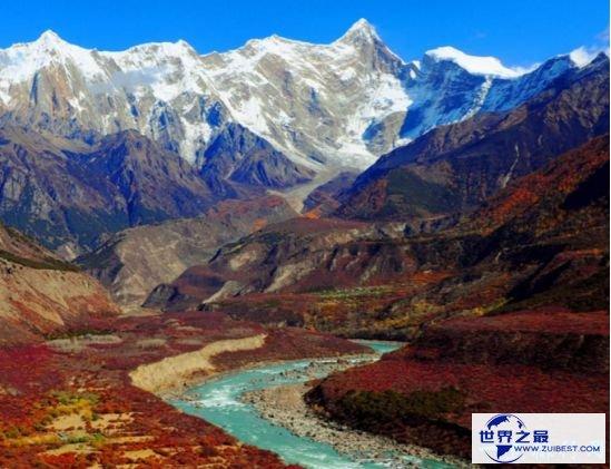 世界第一大峡谷 雅鲁藏布大峡谷