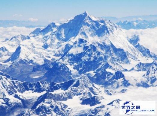 珠穆朗玛峰在1300万年前超过12000米