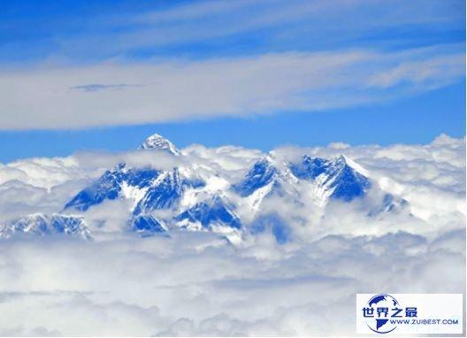 人类第一次登顶珠穆朗玛峰