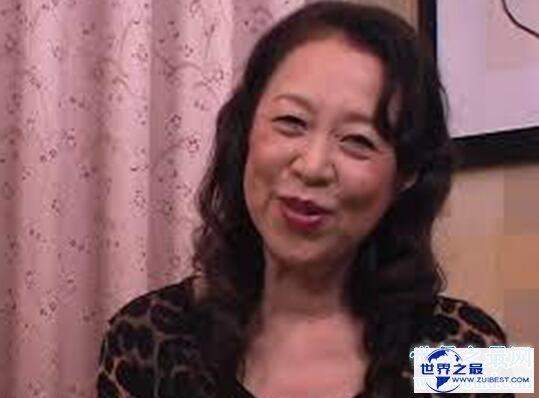 【图】日本最老女优帝冢真织,80岁与20岁猛男床战数小