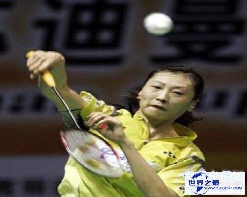 【图】国家级羽毛球静止员——张宁