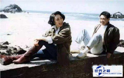 【图】李连杰老婆利智集体材料 两人相恋通过引见