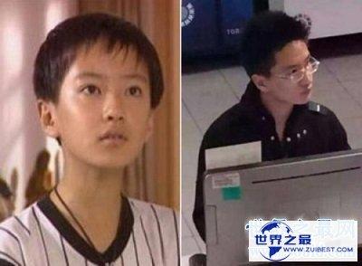 【图】丁凯乐扮演者李瑞长成温文尔雅的学霸,神似杨