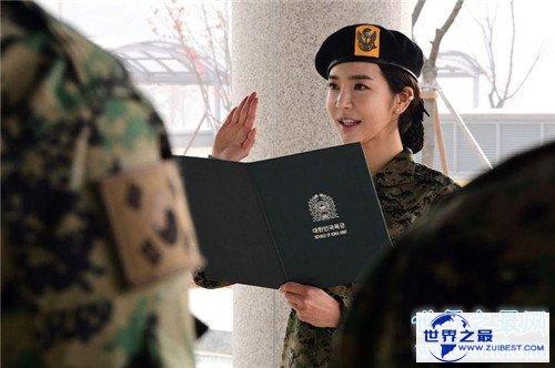 【图】韩国名模参军一同训练 李妍和成最性感金刚芭比