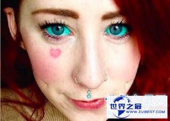 【图】纹身在社会生活中非常常见 那么你见过纹眼球的