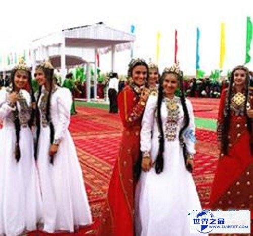 【图】土库曼斯坦美女太多,每个男人幻想的中央