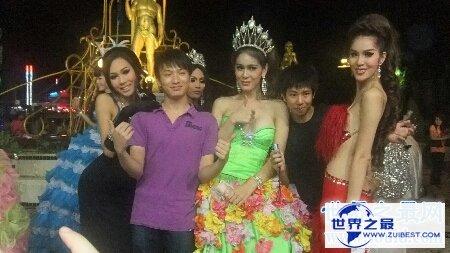 【图】泰国也是旅行胜地让咱们看一下泰国人妖图片
