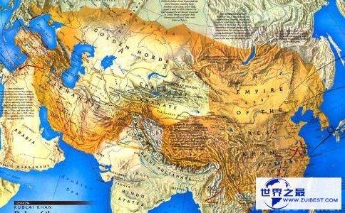 成吉思汗版图