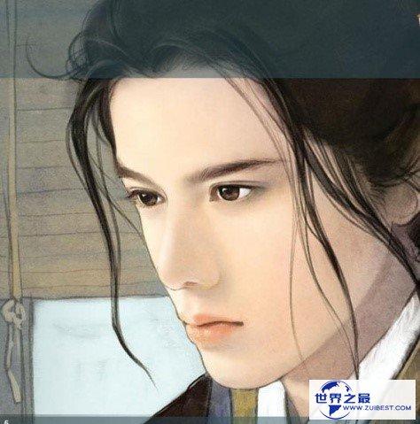 中国现代十大美男:美过西施