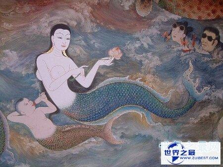 【图】你们见过那些一人传虚;万人传实的美人鱼的图片吗