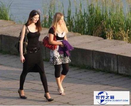 世界上美女最多的国家 白俄罗斯满大街都是美女