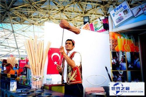 【图】土耳其冰淇淋是什么样的 卖土耳其冰淇淋的小哥