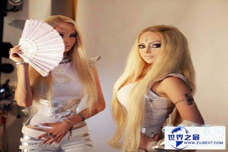 【图】有少局部人经过整容变成了真人芭比娃娃 他们的