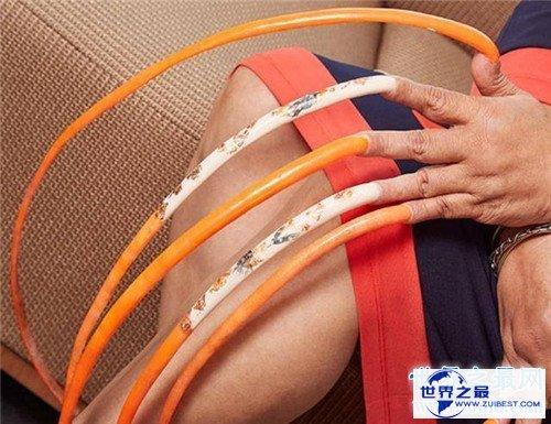 【图】最长的指甲是多长 印度曾有人六十多年没剪过指