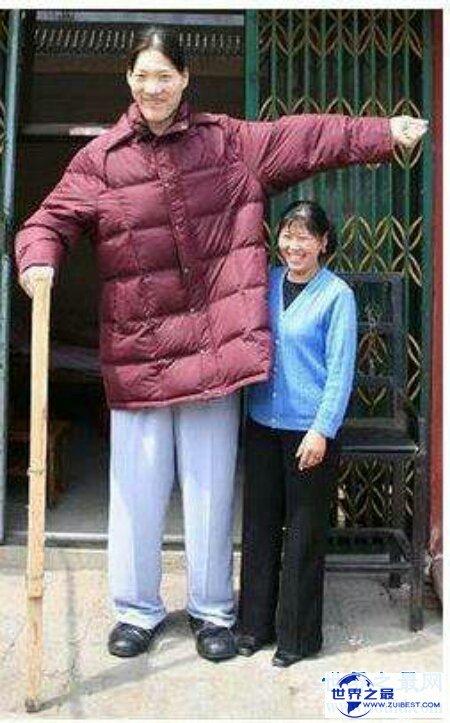 【图】世界女子身高最高纪录的保持者曾金莲如今还活