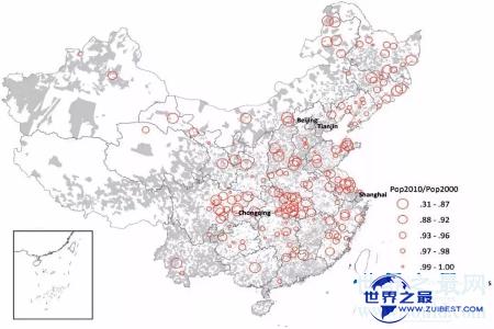 【图】中国是一集体口大国 最新中国城市人口排行榜新
